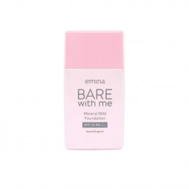 Emina Bare With Me Mineral Mild Foundation