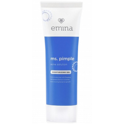 Emina Ms Pimple Acne Solution Moisturizing Gel
