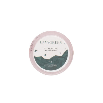 Envygreen Night Extra Whitening Cream 5gr