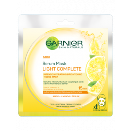 Garnier Serum Mask Light Complete