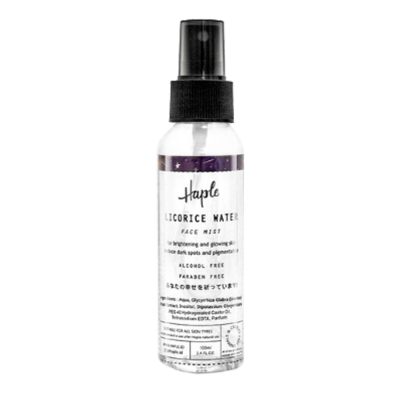 Haple Licorice Water Face Mist