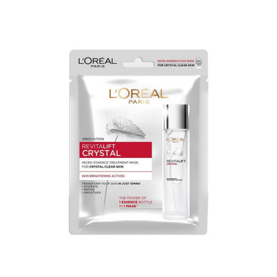 L'Oreal Paris Revitalift Crystal Micro Essence Treatment Mask
