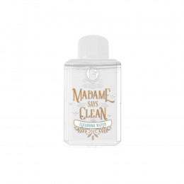 Madame Gie Says Clean Cleansing Water