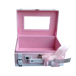 Makeupuccino Beauty Bag Travel Soft Pink