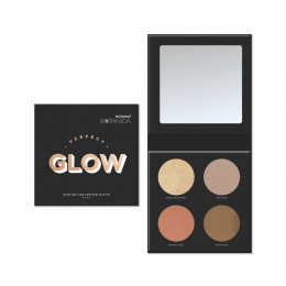 Mineral Botanica Perfect Glow Highlight and Contour Palette