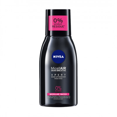 Nivea MicellAIR Skin Breathe XPERT Makeup Remover Face - Eyes
