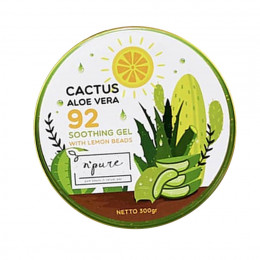 N'Pure Cactus Aloe Vera 92 Shooting Gel With Lemon Beads