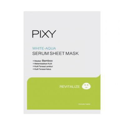 PIXY White Aqua Serum Sheet Mask - Revitalize