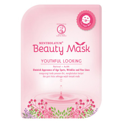 Beauty Mask Mentholatum Youthful Looking