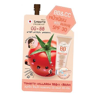SMOOTO Tomato Collagen BB & CC Cream