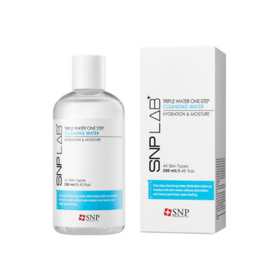 SNP LAB+ Triple Water One-Step Cleansing Water