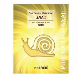 The Saem Pure Natural Snail Mask Sheet