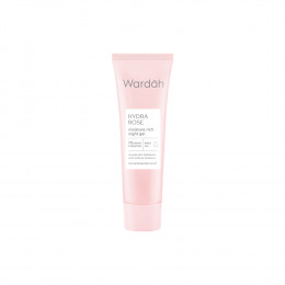 Wardah Hydra Rose Moisture Rich Night Gel 17ml