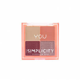 YOU The Simplicity Eyeshadow QuadX