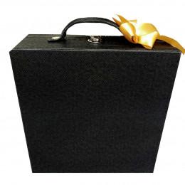 Makeupuccino Beauty Bag Black (sekat)