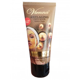 Vienna Anti Aging Face Mask Luxurious Gold Tube